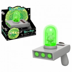 Rick and Morty Funko Vinyl Toy Sound and Light Up Portal Gun