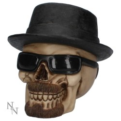 Badass Large Skull (Breaking Bad Style)  15.8cm Nmesis Now K3104H7