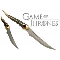 Game of Thrones Catspaw Blade Style Sword with Display Wall Plaque
