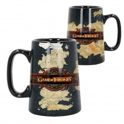 Ceramic Map Tankard (Game of Thrones) 13.5cm B4013K8