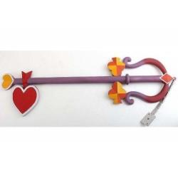 Kingdom of Hearts - Lady Luck Foam Keyblade