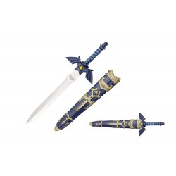 12'' Master Sword Dagger with Scabbard the Legend of Zelda
